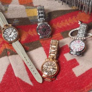 GaGa Milano | パーティシーズンに腕元で華やぐ腕時計