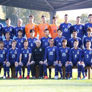 サッカー日本代表 欧州遠征での選手背番号が決定!!