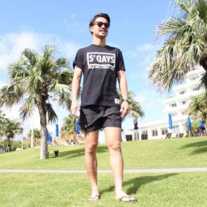 リゾート地へ向かう方へ♡エスデイズのブラックTシャツで作るビーチコーデ!