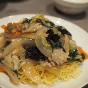 BALANCE cafe|トロッとあんかけにみんな夢中♡野菜も摂れるあんかけ焼きそば